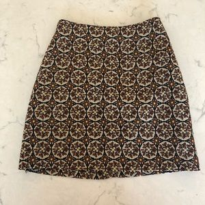 H&M Floral Mini Skirt - Size 4
